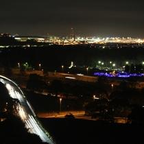 最上階からの夜景