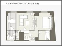 【間取り図】スタイリッシュルーム インペリアル 69平米