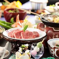 【ポイント10倍】女将太鼓判!肉汁ジュワ〜♪<彩の料理>霜降和牛の鉄板焼き