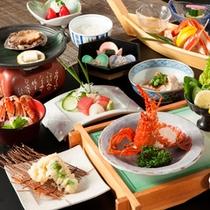 ■料理長渾身の【特別会席】奥駿河。厳選された海鮮をお楽しみください。