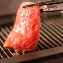 ■≪彩のお料理≫メインの霜降和牛ステーキ・一例