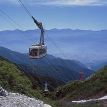 ■夏の駒ヶ岳ロープウェイ