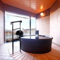 ■貸切風呂「桜」〜全体像