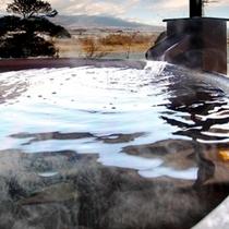 ■貸切風呂「桜」 たっぷりのお湯