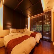 紫水亭特別室  6階風雅(Fu雅)・5階流雅(Ryu雅)ベッド
