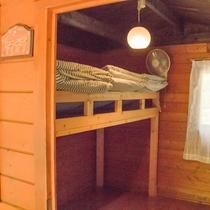 *【バンガロー/ヤマガラ】ふかふかのお布団が用意されてるのでぐっすりお休みできます。