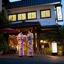 【外観】夜の長岡…浴衣でお散歩