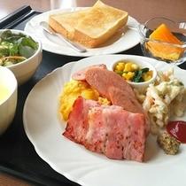 朝食「洋定食」