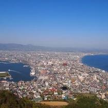 函館山からの景色(日中)