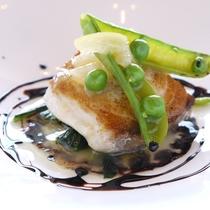 リーズナブルなプラン お魚のお料理一例