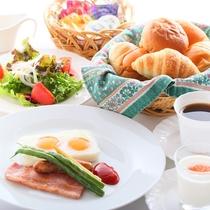 【朝食】ごゆっくりどうぞ