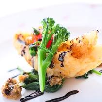 【スタンダードのお料理】ある日のお魚料理