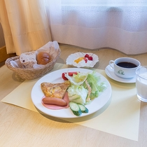 *【朝食一例】地元食材を中心とした朝ごはん