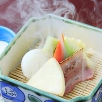 【朝食一例】温野菜