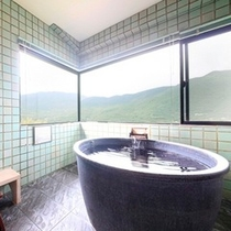 【最上階展望風呂付和洋室~翠苑~】展望風呂