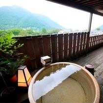 【露天風呂付和室~翠星~】露天風呂