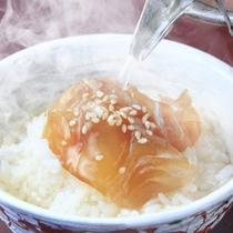 【朝食一例】鯛茶漬け