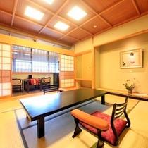 【温泉風呂付特別室~翠景~】和室間