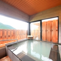 【温泉風呂付特別室~翠景~】浴室