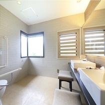【温泉風呂付特別室~翠景~】洗面所