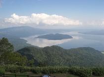 津別峠からの屈斜路湖