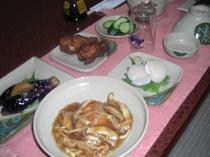 夕食お料理