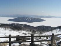 冬の美幌峠