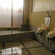 開放感ある浴場