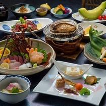 南伊豆 宿○文のお料理