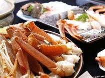 カニコースのお料理一例です。色々な味わい方でズワイ蟹をご堪能下さい。
