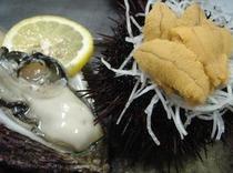 ウニ・牡蠣(夏季)