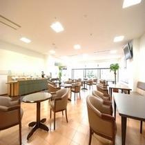 ◆朝食会場【2階フリースペース】※電子レンジがございます♪