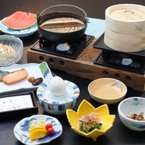 身体に優しい和朝食