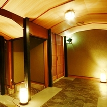 古兆館 離れへの廊下