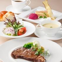 ■和洋チョイスのディナー付プラン :洋食の一例(通年)