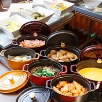 ■ご朝食一例:お惣菜コーナー