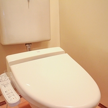 *【お部屋】ウォシュレットトイレ付きのお部屋です