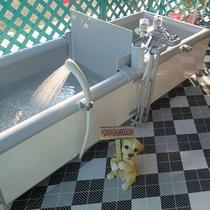 【温泉】犬用のお風呂が外にございます