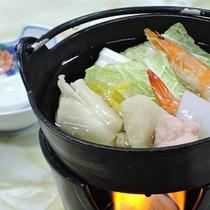 【お料理】夕食一例*ほっこりあたたまる小鍋