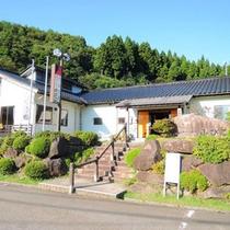 *海沿いの宿が多い能登では珍しい山の中にある公共の宿です