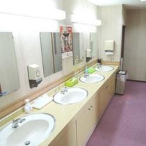 *館内一例:共有洗面所