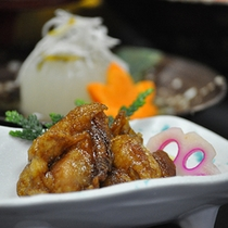 いしり風味鶏の桑焼き