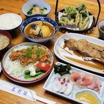 *【食事/夕食一例】阿寒の食材をふんだんに使用した料理をお楽しみください。