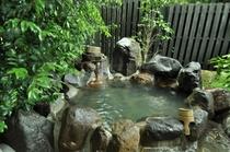 水の音 露天風呂