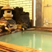 内湯 姫の湯 坪庭風呂