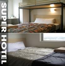客室イメージ2分割写真