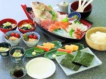 海鮮手巻き寿司(2人前例)