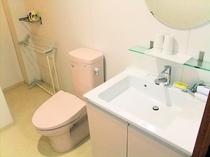 和室12畳 トイレ・洗面台