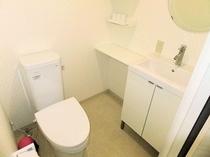 洋室ツイン トイレ・洗面台
