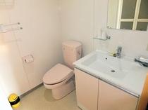 禁煙和室6畳 トイレ・洗面台